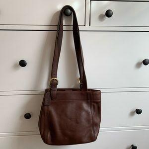 Vintage Coach Waverly Brown Shoulder Bag
